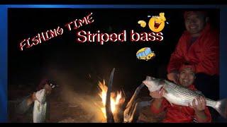 Fishing Striped Bass
