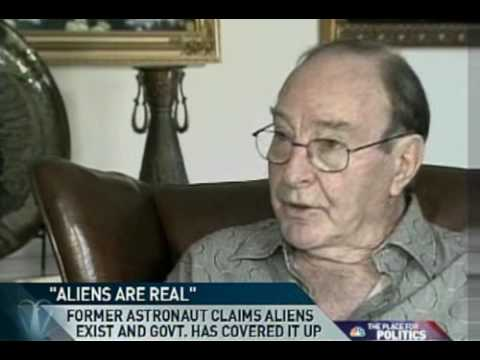 """MSNBC: Dr. Edward Mitchell on UFO's """"Aliens are Re..."""