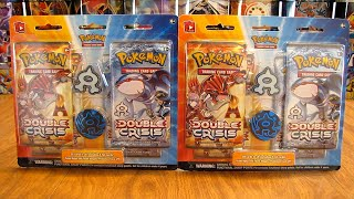 Team Aqua Double Crisis Blister Pack Opening