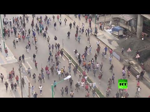 مشاهد من احتجاجات واسعة في عاصمة إثيوبيا أديس أبابا بعد مقتل مغن شهير  - نشر قبل 4 ساعة