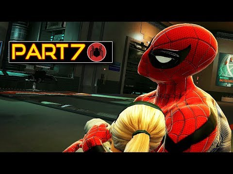 Spider-man Homecoming Story Gameplay Part 7 - The Amazing Spider-man Mod