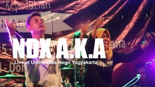 Video [HD] NDX A.K.A - Sayang (Live at UNY, October 2016) download MP3, 3GP, MP4, WEBM, AVI, FLV Agustus 2017
