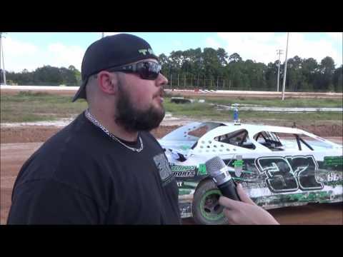 Tyler Sistrunk Motorsports - Putnam County Speedway - Victory Lane Interview - 11-5-2016