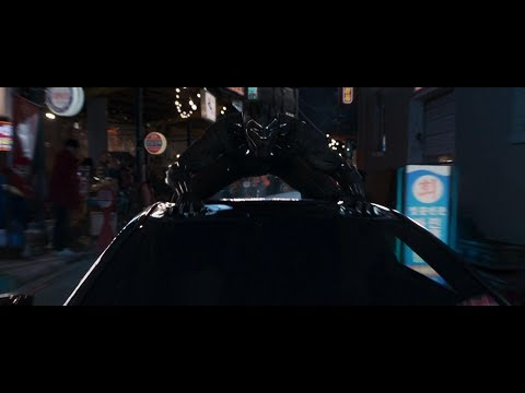 Black Panther: Ulysses Klaue car chase scene. [PART 1]