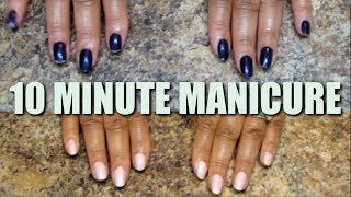 10 MINUTE MANICURE + HOW TO MO…