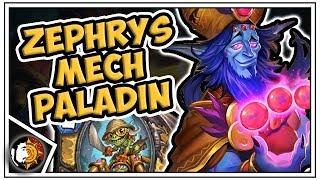 Hearthstone: Zephrys Mech Paladin - Saviors Of Uldum