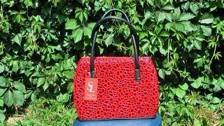 Сочные красные тона - сумки - лето 2016(Женская сумка от украинского производителя кожгалантереи - фабрики Style Line. Модель изготовлена летом 2016,..., 2016-06-09T10:53:37.000Z)