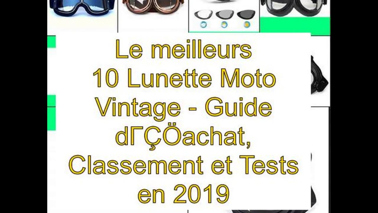 54de116ef3 Le meilleurs 10 Lunette Moto Vintage – Guide d'achat, Classement et Tests  en 2019
