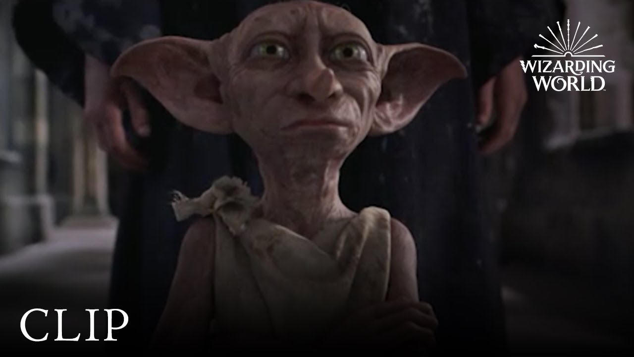 Dobby Is A Free Elf Harry Potter And The Chamber Of Secrets Youtube