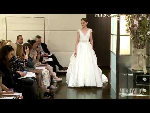 Badgley Mischka Bridal Fall 2012 - Videofashion