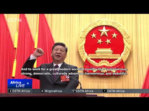 Xi elected president & chairman of Central Military Commission