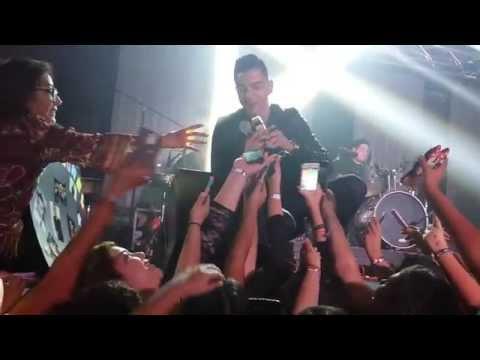 Luis Coronel en concierto en Bryan TX