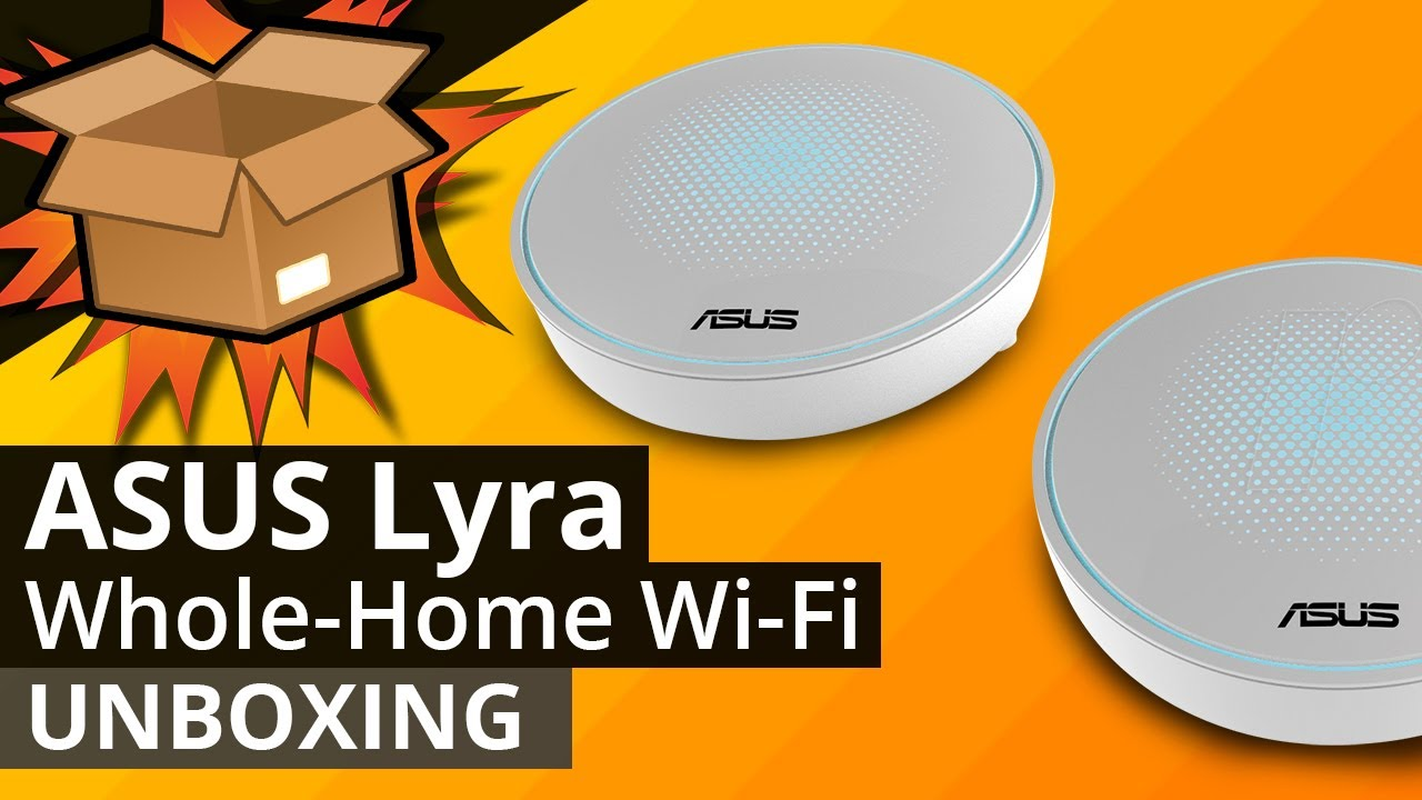 ASUS Lyra U2013 Tri Band Whole Home Wi Fi System UNBOXING   The Best Home Wifi  Network Solution