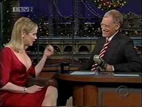 Renee Zellweger on Letterman--Cold Mountain--Part 1