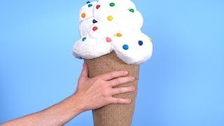 GIANT ICE CREAM CONE!