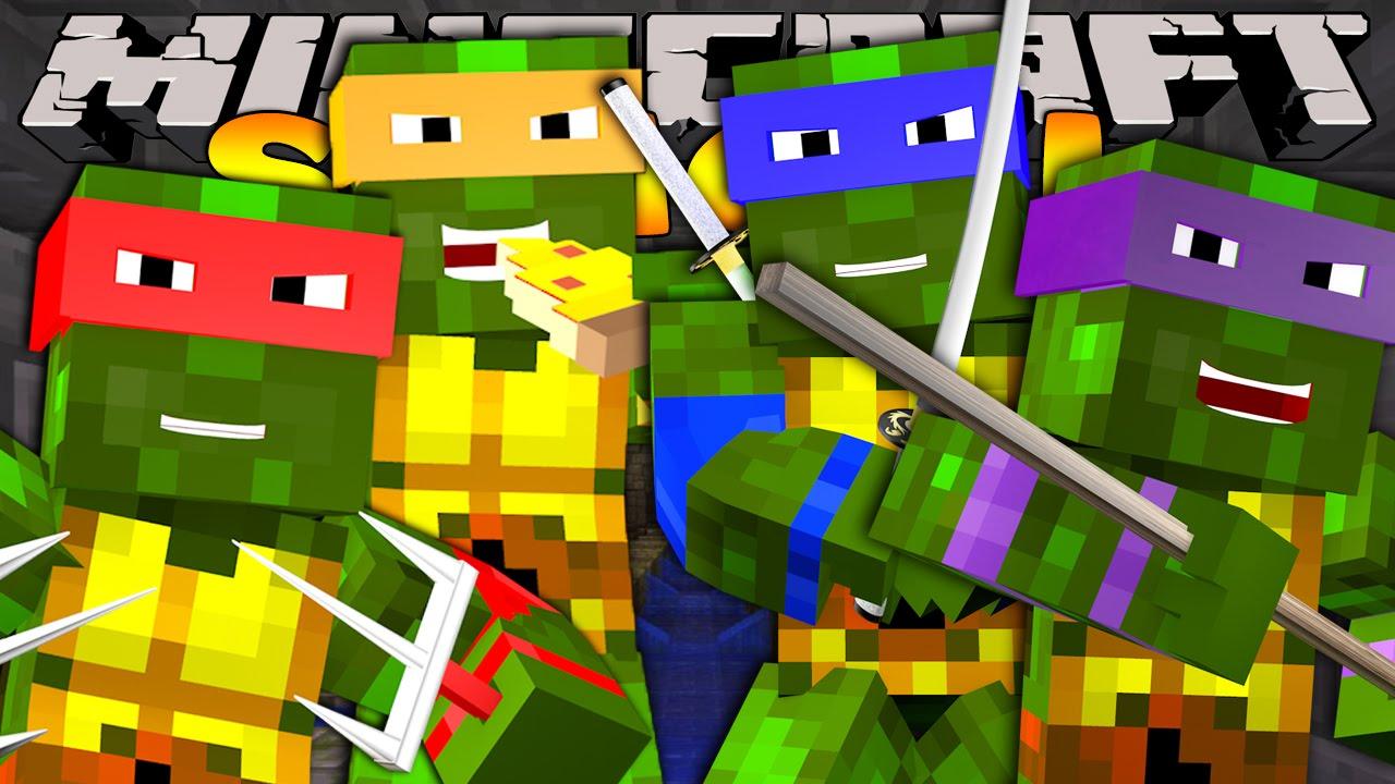 minecraft ninja turtles skin