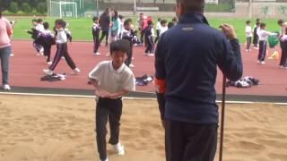 真鐸學校 ~ 2017年陸運會男子丙組跳遠亞軍 ~ 黃韜霖