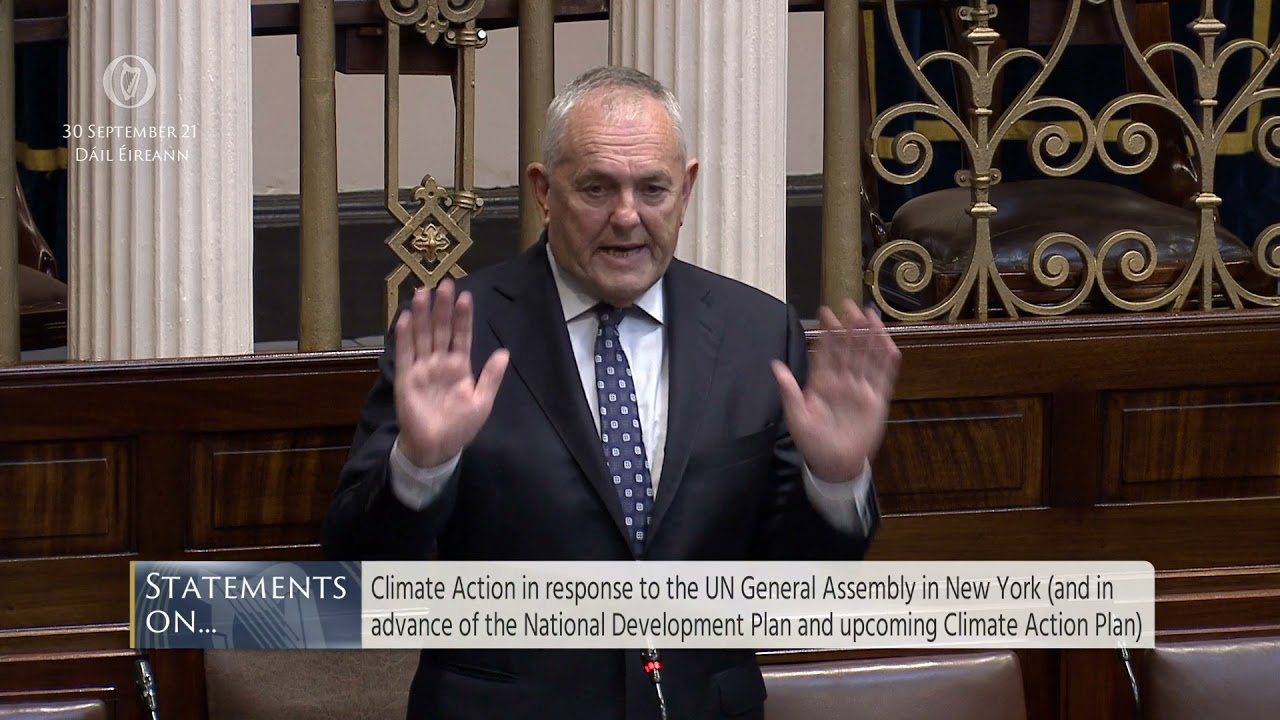 John McGuinness Statements on Climate Action
