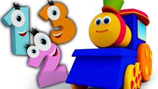 bob il treno | numeri canzone per bambini | Imparare i numeri | Bob Train Number Song | Kids Song