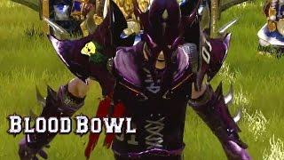 Blood Bowl 2 - Dark Elves Tricks and Treats Gameplay Trailer