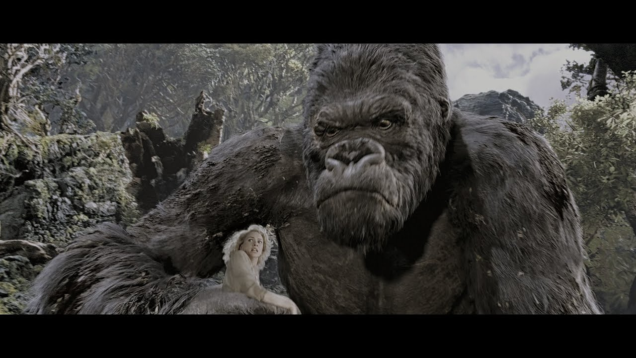 King Kong 2005 4k Hdr Advanced Motion Capture Youtube