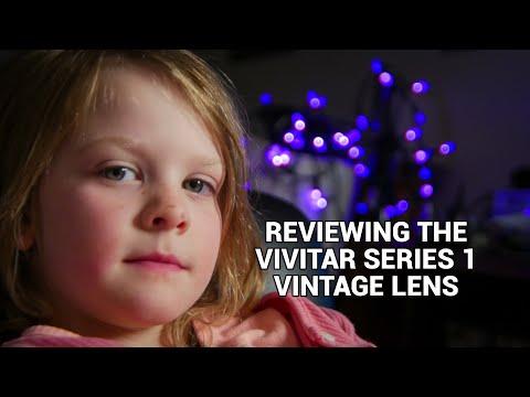 Reviewing The Vivitar Series 1 Vintage Lens