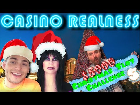 Casino Realness with SDGuy - $5,000 Christmas Slot Challenge 5 - Episode 86