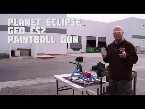 Planet Eclipse Geo CS2 Paintball Gun - Efficiency Test