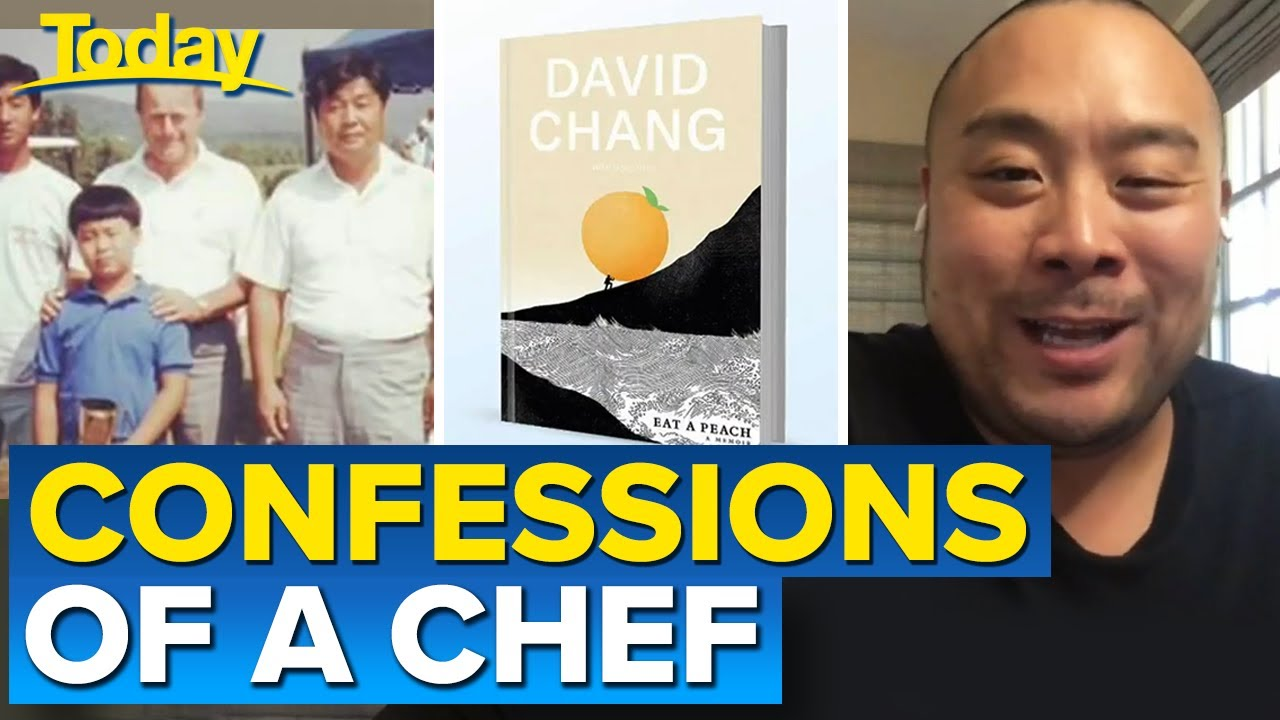 World-famous chef David Chang gets candid in new book   Today Show Australia