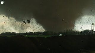Crazy HUGE Tornadoes Caught On Tape | Extreme Tornado Compilation