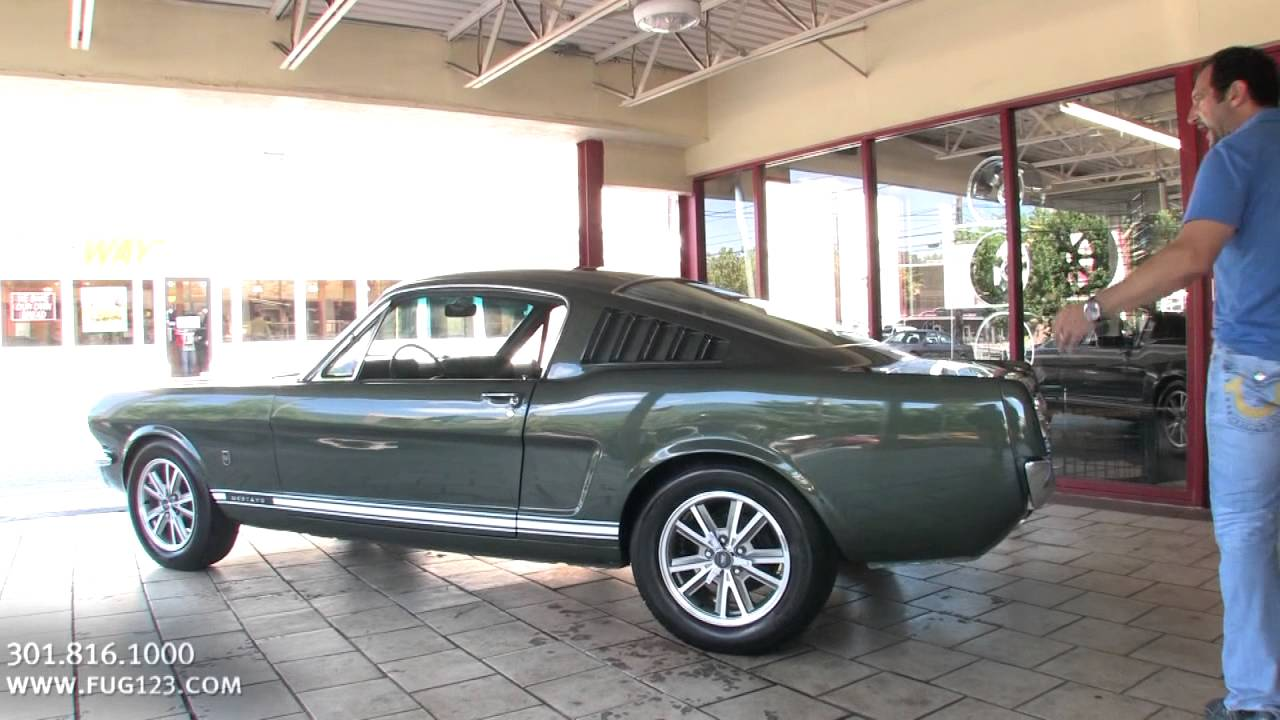 1965 ford mustang fastback gt for sale with test drive driving sounds and walk through video