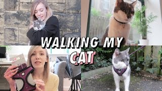 Walking My Cat For The First Time