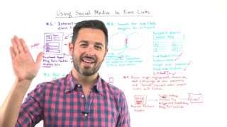 Top 4 Ways to Use Social Media to Earn Links - Whiteboard Friday