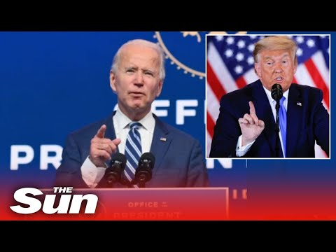 Biden calls Trump an 'EMBARRASSMENT' for refusing to concede