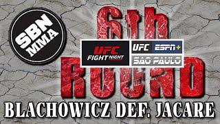 UFC Sao Paulo | Blachowicz vs. Jacare | The 6th Round SBN MMA Post-Fight Show
