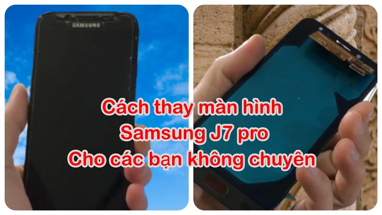 Tự thay màn hình J7 pro tại nhà. Rất dễ! bạn hoàn toàn làm được.J7 pro screen replacement.