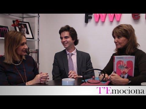 T'Emociona con Elias Paramio, coautor del libro Hombres sin Afeitar