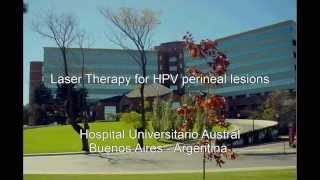 Laser Therapy for HPV Perineal Lesions