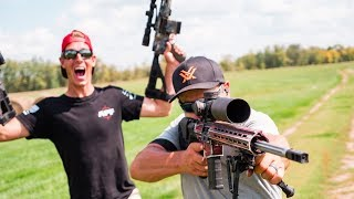 AR Rifle Trick Shots | Gould Brothers