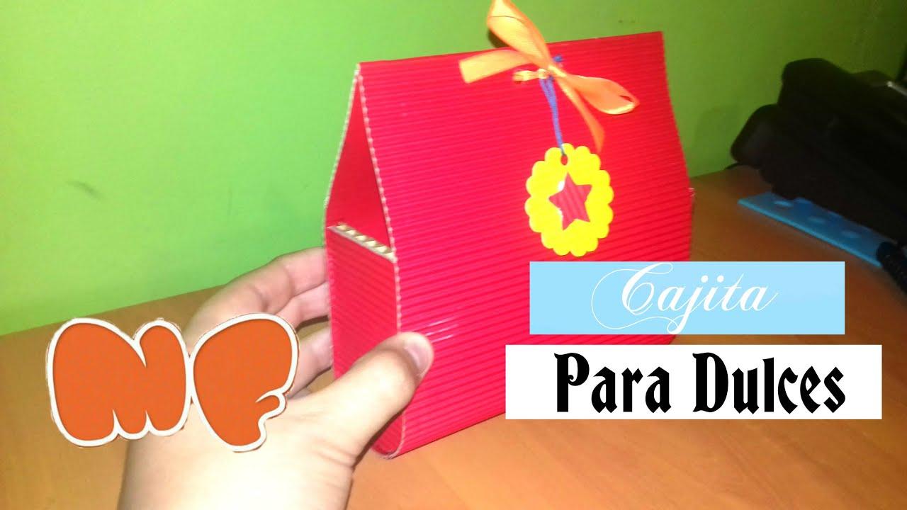 Manualidades de navidad cajita para dulces navide os - Manualidades para regalar en reyes ...