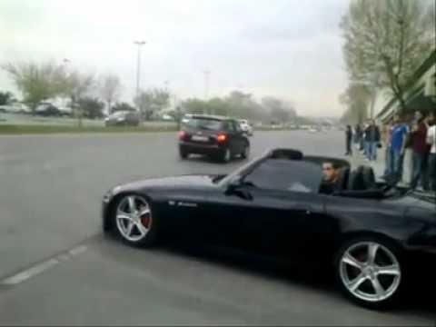 Honda S2000 Fiyat >> Honda S2000 Yan Yan Istanbul Idealtepe Sahilyolu Youtube
