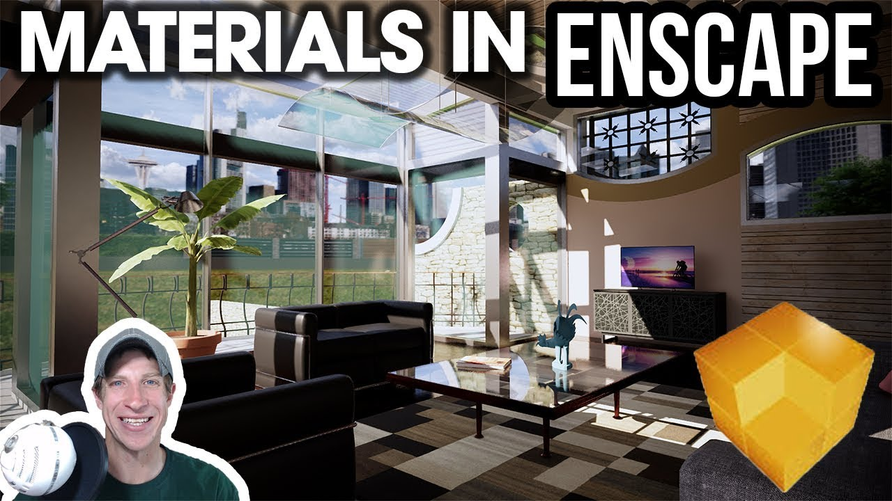 GETTING STARTED RENDERING IN ENSCAPE (EP 2) - Adding and Editing Materials