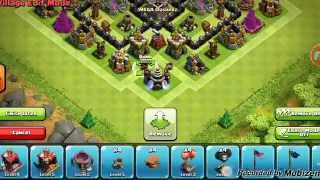 Clash of Clans: TH9 Dark Elixir Farming Base 2015