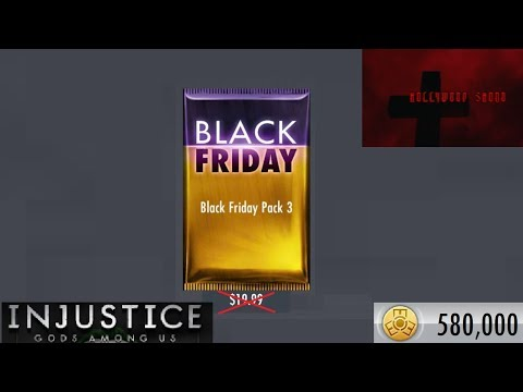 Injustice Gods Among Us iOS - Black Friday Pack 3
