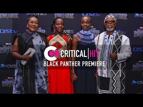 Black Panther South Africa Red Carpet Premiere