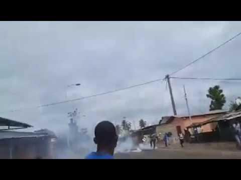 Émeute à Port-Gentil 2016: un manifestant perd sa main