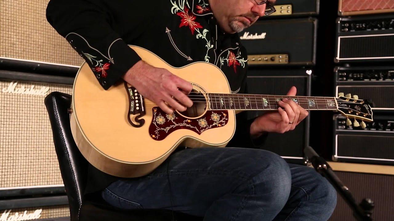 ac6d7230662 Gibson Montana Limited Edition SJ-200 Parlor • SN: 13534078 - YouTube
