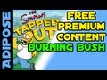 Simpsons Tapped Out-Free Premium Content - The Burning Bush