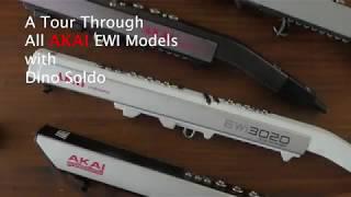 A tour of All Akai EWI models