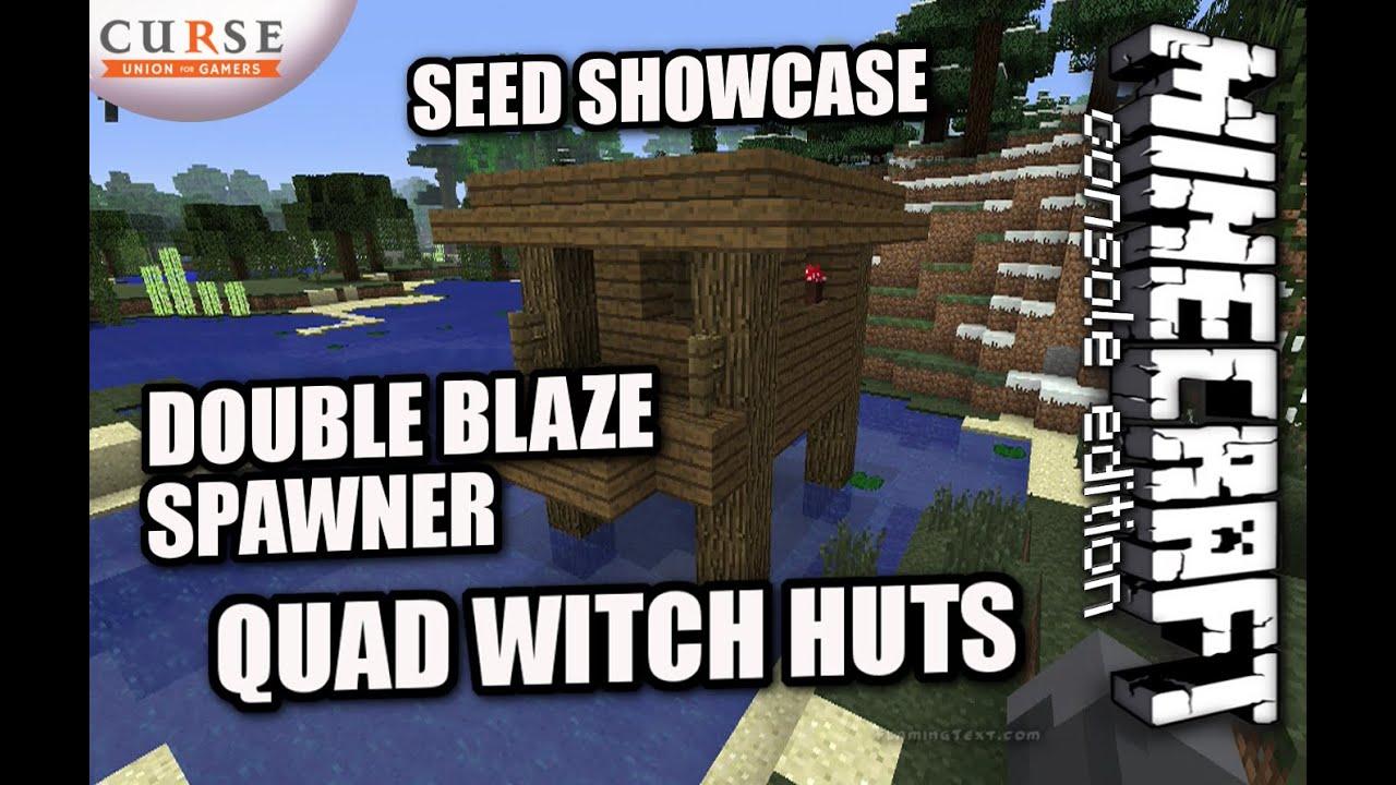 minecraft ps4 quad spawner seed